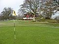 The 18th green at Minto Golf Course - geograph.org.uk - 766325.jpg