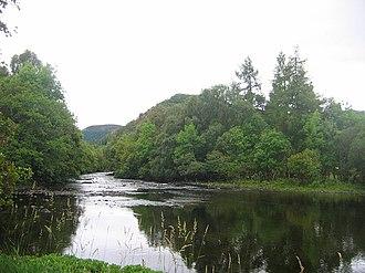 Black Water (Conon) - The river near Contin