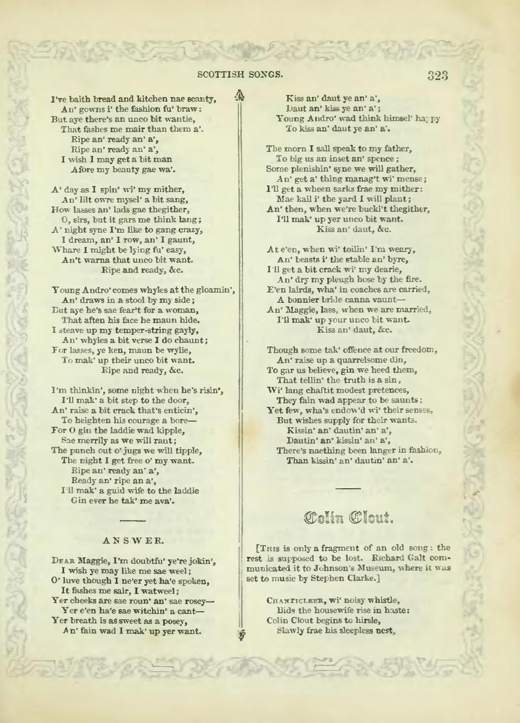 Page The Book Of Scottish Song Djvu 341 Wikisource The Free