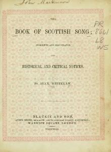 The Book of Scottish Song.djvu