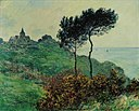 The Church at Varengeville, Grey Weather by Claude Monet, 1882.jpg