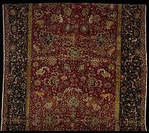 The Emperor S Carpet Detail Second Half Of 16th Century Iran Metropolitan Museum Art New York