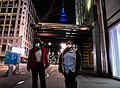 The Empire State Building Shines Blue for MTA Workers (49837644266).jpg
