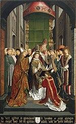 Le Sacre de S. Thomas de Cantorbéry.