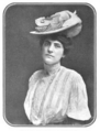 The Illustrated Milliner, Volume 7, Issue 6, June 1906 - A very dressy Panama.png