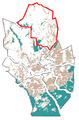 The Map of Pohjois-Espoo at Espoo in Finland.png