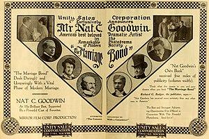Nathaniel Carl Goodwin - The Marriage Bond (1916)