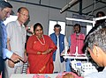 The Minister of State for Textiles (Independent Charge), Shri Santosh Kumar Gangwar visiting after inaugurating the Apparel and Garment Making Centre, at the Industrial Growth Centre, in Aizawl, Mizoram.jpg