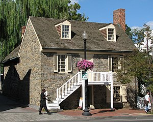 Georgetown (Washington, D.C.) -  The Old Stone House, built 1765, is one of the oldest buildings in Washington, D.C.