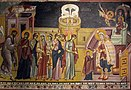 The Presentation of the Mother of God in the Temple, Church of St. Joachim and Anne, King's Church in Studenica, 1313-14.jpg