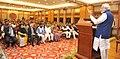 The Prime Minister, Shri Narendra Modi addressing at the release of the commemorative coins on Dr. B.R. Ambedkar, in New Delhi on December 06, 2015.jpg