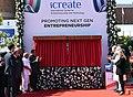 The Prime Minister, Shri Narendra Modi and the Prime Minister of Israel, Mr. Benjamin Netanyahu inaugurating the iCreate Center, at Deo Dholera Village, in Ahmedabad, Gujarat.jpg