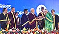 The Prime Minister, Shri Narendra Modi giving away the awards to scientists at the 104th Session of the Indian Science Congress, at Tirupati, Andhra Pradesh (5).jpg