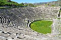The Roman theatre, built in the second half of the 1st century BC on the eastern slope of the acropolis, Aphrodisias, Caria, Turkey (18519902202).jpg