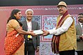 The Secretary Ministry of Tribal Affairs, Dr. H. Panda presented the prizes at the closing ceremony of the National Tribal Festival- 2015 VANAJ, in New Delhi on February 18, 2015 (2).jpg