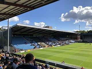 The Shay Sports stadium in Halifax, West Yorkshire, England