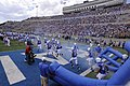 The U.S. Air Force Academy football team takes the field prior to the start of their opening football game against the Idaho State Bengals at Falcon Stadium in Colorado Springs, Colo., Sept 120901-F-ZJ145-519.jpg