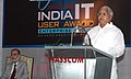 The Union Minister for Railways, Shri Lalu Prasad addressing at an award ceremony of 'IT User Awards 2006', organised by NASSCOM, in New Delhi on June 25, 2007.jpg
