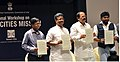 The Union Minister for Urban Development, Housing and Urban Poverty Alleviation and Parliamentary Affairs, Shri M. Venkaiah Naidu at the inauguration of the Smart City Mission Regional Workshop for 13 States.jpg