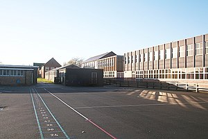 Northallerton School - Image: The buildings of Northallerton College from Mill Hill School geograph.org.uk 296345