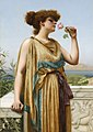 The fragrant rose, by John William Godward.jpg