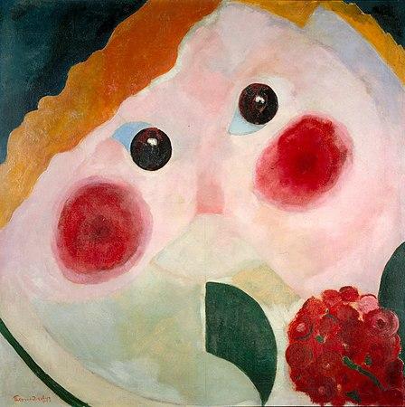 Theo van Doesburg - Girl with Ranunculus - Google Art Project.jpg
