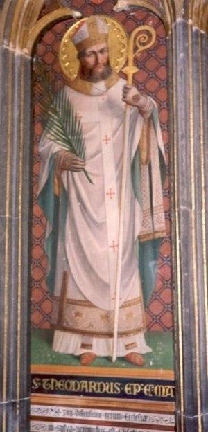 Theodard of Maastricht - Saint Theodard, St-Paul's Cathedral, Liège