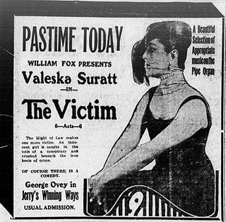 <i>The Victim</i> (1916 film) 1916 film by Will S. Davis