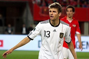 Thomas Müller (FC Bayern Munich), german natio...