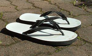 Flip-flops - A pair of flip-flops