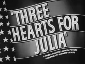 Description de l'image Three Hearts for Julia (1943).png.