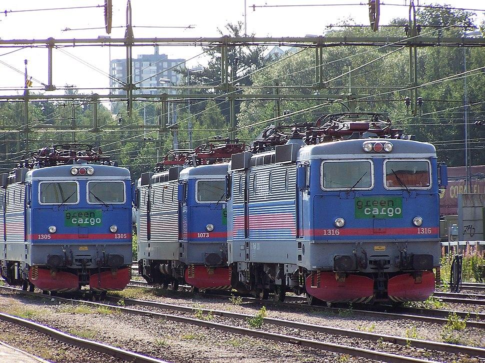 Three engines of type Rc4