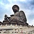 Tian Tan Buddha พระใหญ่ที่นองปิง - panoramio.jpg