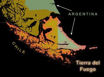 Tierra del Fuego graphic