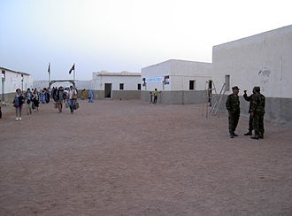Free Zone (region) - Tifariti, in the northeast of the zone, 2005