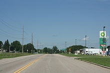 Tigerton Wisconsin Downtown North US45.jpg