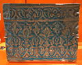 Tile with arabesques from an architectural frieze, Iran, 14th century, glazed stonepaste - Royal Ontario Museum - DSC04669.JPG