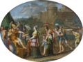 Timoclée et Alexandre, Domenichino (Louvre INV 796) 04.png