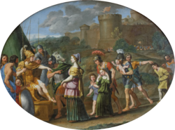 Domenichino: Timoclea Before Alexander the Great