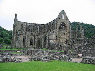 Isabel de Clare, 4th Countess of Pembroke - Tintern Abbey, the burial place of Isabel de Clare