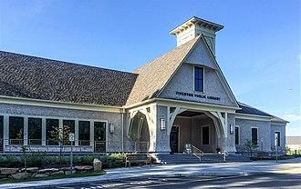 Tiverton, Rhode Island - Tiverton Public Library, opened June 2015.