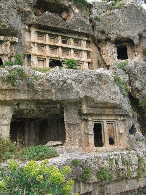Tlos-tombs