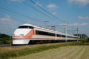 Tōbu Nikkō Line - A 100 series Spacia EMU