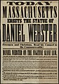 Today Massachusetts erects the statue of Daniel Webster (14174431427).jpg