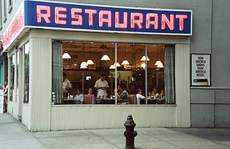 Morningside Heights, Manhattan - The real Tom's Restaurant, which appeared in Seinfeld
