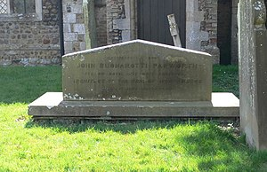 John Buonarotti Papworth - Papworth's tomb at Little Paxton, Huntingdonshire