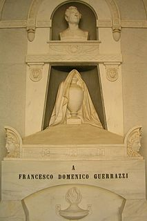 Francesco Domenico Guerrazzi politician and writer from Italy