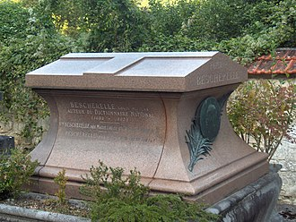 Louis-Nicolas Bescherelle - Bescherelle's grave at Valmondois.