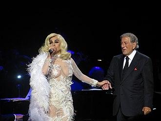 "Cheek to Cheek (album) - Gaga and Bennett performing ""But Beautiful"" on the Cheek to Cheek Tour"