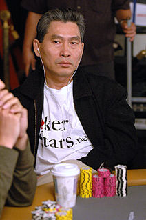 Tony Ma Vietnamese-born American poker player
